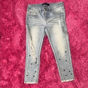 Cropped Blue a Jeans